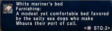 Mariner's Bed W