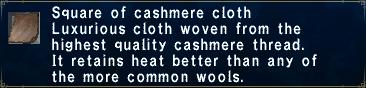 Cashmere Cloth