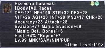Hizamaru Haramaki