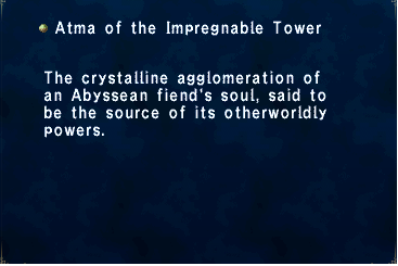 Atma of the Impregnable Tower