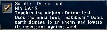 Doton: Ichi