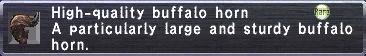High-Quality Buffalo Horn
