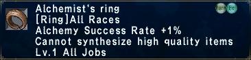 Alchemist's Ring