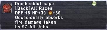 Drachenblut Cape