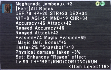 Meghanada Jambeaux +2