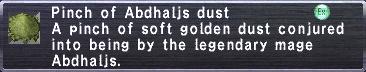 Abdhaljs Dust
