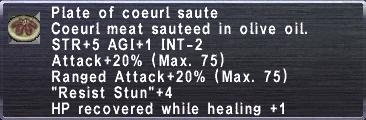 Coeurl Saute