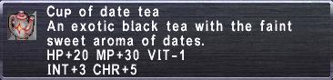 Date Tea
