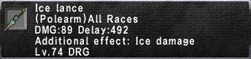 Ice Lance