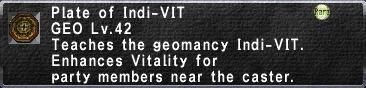 Plate of Indi-VIT