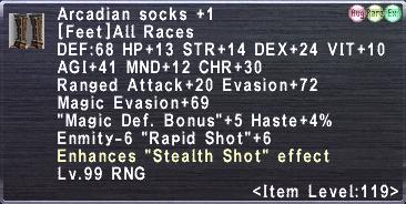 Arcadian Socks +1