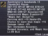 Assimilator's Bazubands +3