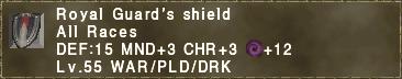 Royal Guard's Shield