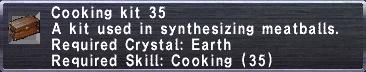 Cooking Kit 35