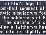 Faithful's Legs III