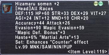 Hizamaru Somen +2