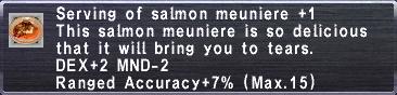 Salmon Meuniere +1
