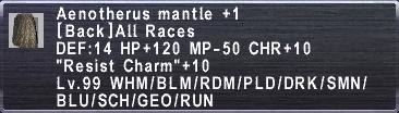 Aenotherus Mantle +1