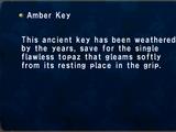 Amber Key