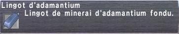 Lingot d'adamantium