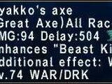 Byakko's Axe