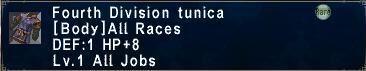Fourth Division tunica