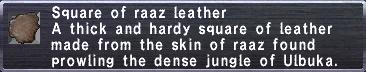 Raaz Leather