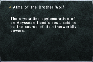 Atma of the Brother Wolf