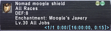 Nomad Moogle Shield