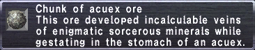 Acuex Ore
