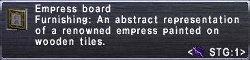 Empress Board