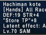 Hachiman Kote