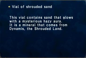 Vial of Shrouded Sand