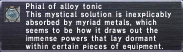 Alloy Tonic