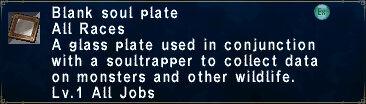 Blank Soulplate