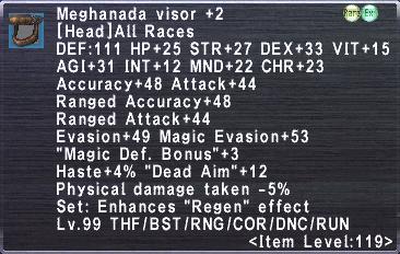 Meghanada Visor +2