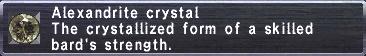 Alexandrite Crystal