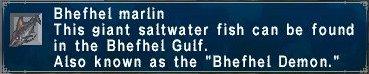Bhefhel Marlin