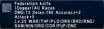 Federation Knife