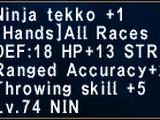 Ninja Tekko +1