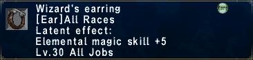 Wizard's Earring
