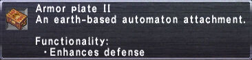 Armor Plate II