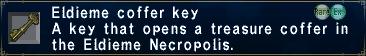 Eldieme Coffer Key