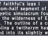 Faithful's Legs I