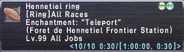 Hennetiel Ring