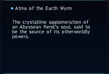 Atma of the Earth Wyrm