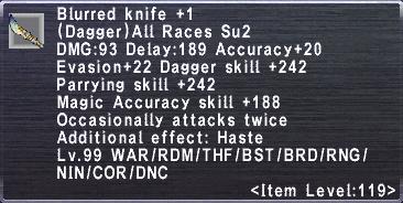 Blurred Knife +1