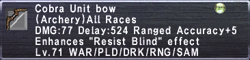 Cobra Bow