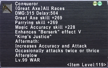 Conqueror (119-3)