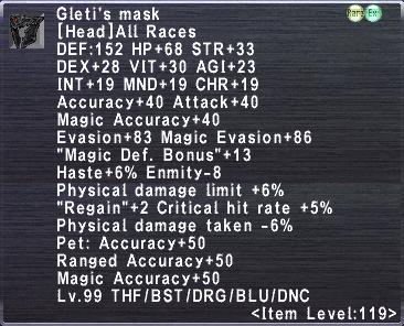Gleti's Mask